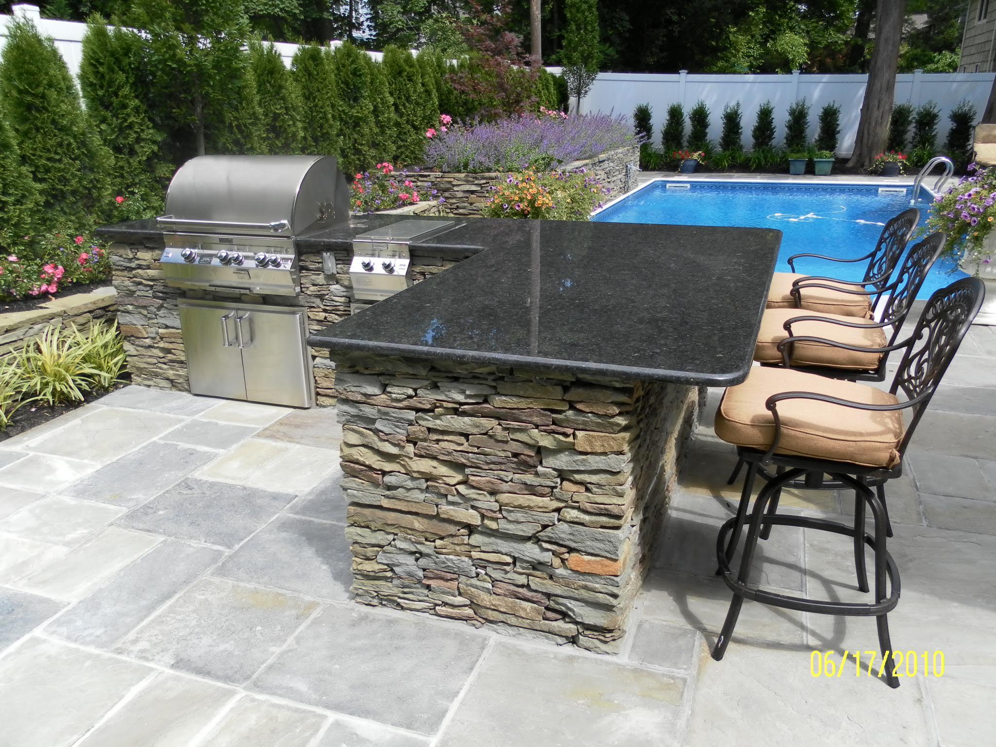 outdoor kitchens basics landscpaing co inc